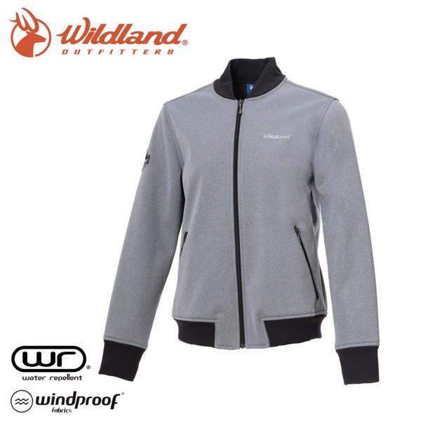 【Wildland 荒野 女 防潑防風保暖飛行外套《灰》】0A72915/夾克/棒球外套/運動外套