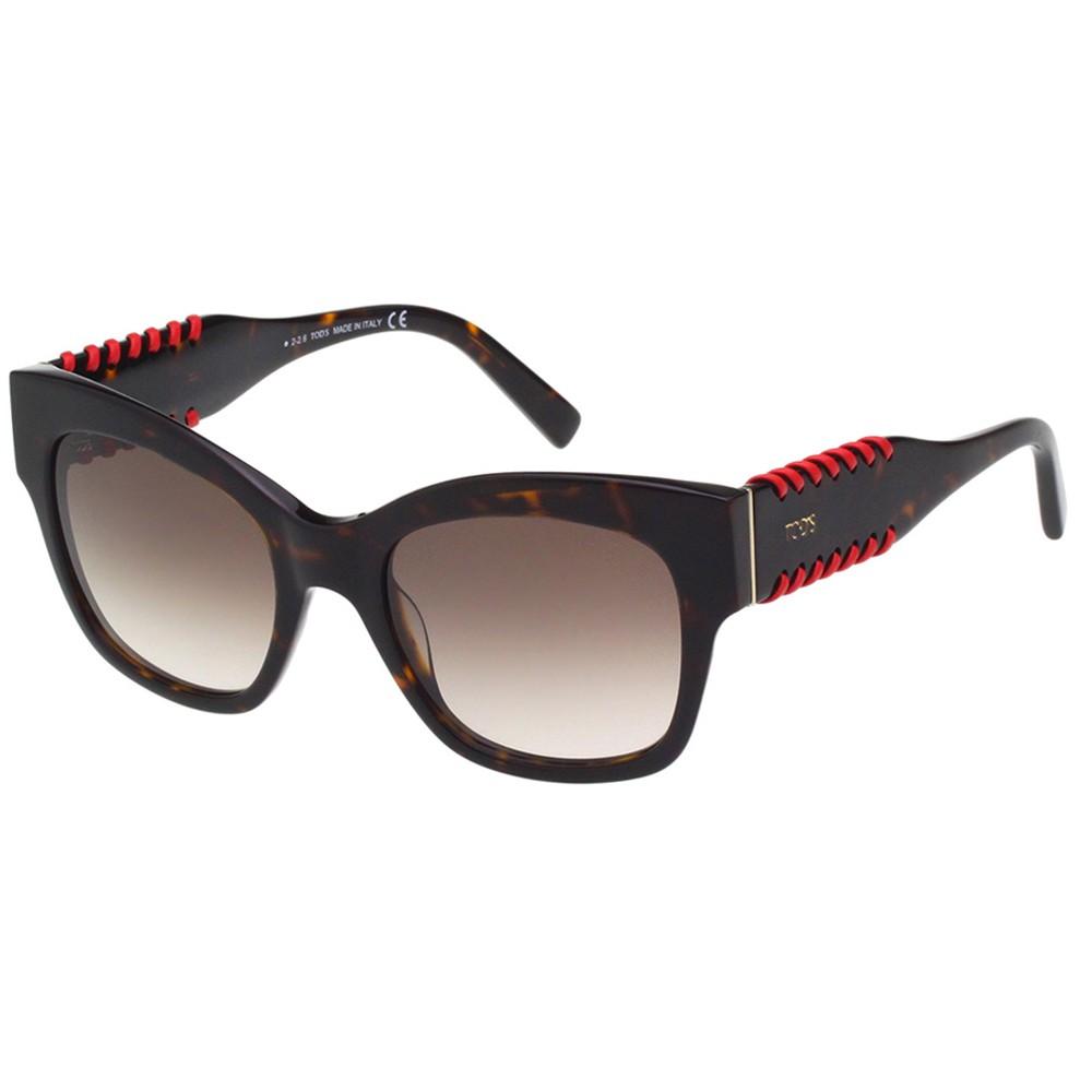 TOD'S 編織系列 太陽眼鏡(琥珀色)