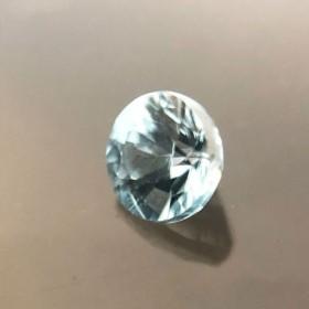 天然石 ブルージルコン ブラジル産 4.05mm 0.46カラット