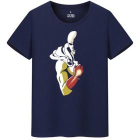 ワンパンマン ONE PUNCH MAN サイタマ メンズ/レディース Tシャツ/夏服 半袖 Tシャ