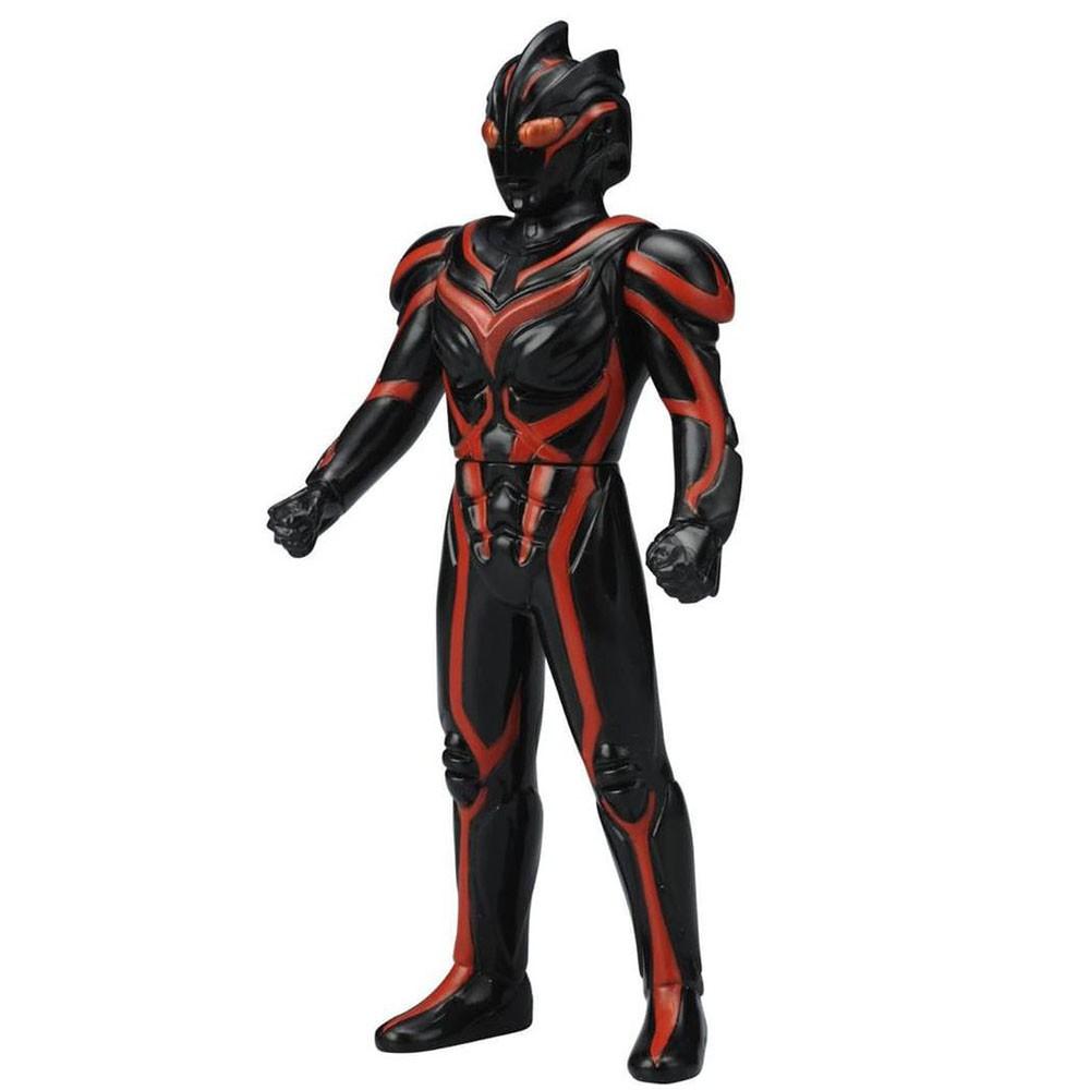 【BANDAI】代理版 特攝 超人力霸王 暗黑扎基 500系列 軟膠公仔