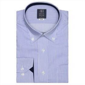 【31%OFF】 トーキョーシャツ ワイシャツ長袖形態安定 ボタンダウン ブルー系 メンズ ブルー S-80 【TOKYO SHIRTS】 【セール開催中】