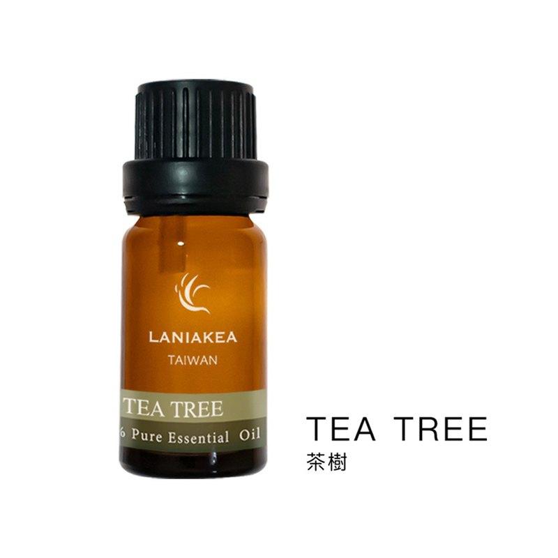 【情人節禮物】【新年禮物】純天然植物精油 - 茶樹精油 (10ml) - 芳療 薰香 淨化空氣