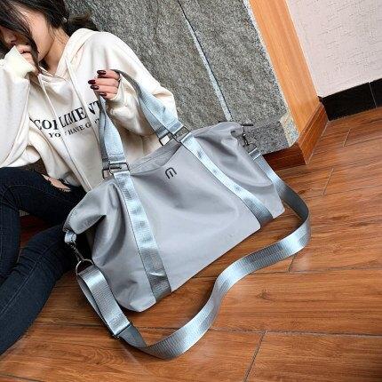 旅行包 手提旅行包男短途出差旅遊大容量輕便運動健身包女學生行李袋收納