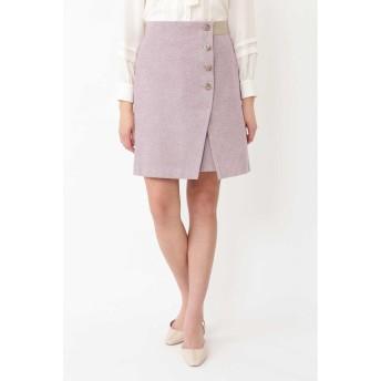 JILLSTUART エレノアラップ風スカート ピンク 0