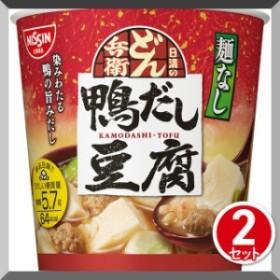 日清麺なしどん兵衛 鴨だし豆腐スープ24g×6個×2セット