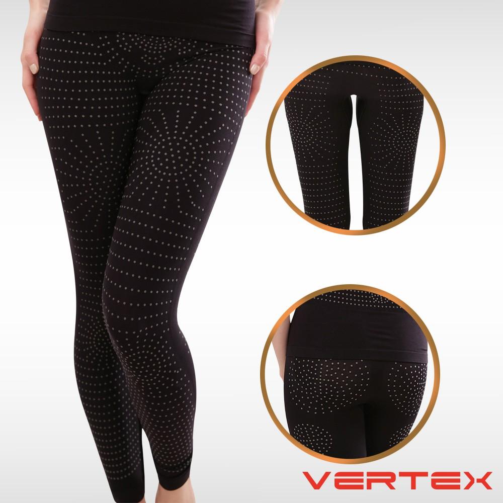【VERTEX】遠紅外線電氣石能量極塑長褲-黑色