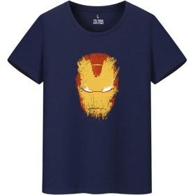 アイアンマン Iron Man Avengers メンズ/レディース Tシャツ/夏服 半袖 Tシャ