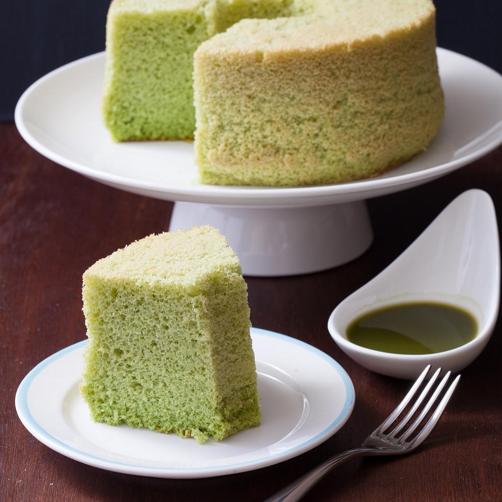 Soft Green 斑斕戚風 (七吋) 彌月蛋糕 天然 手作 無添加