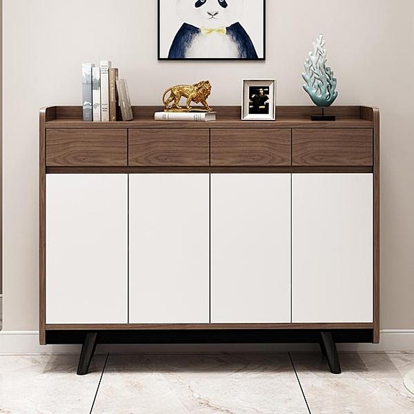 北歐鞋櫃家用門口現代簡約多功能客廳儲物櫃玄關櫃省空間大容量WD 至簡元素
