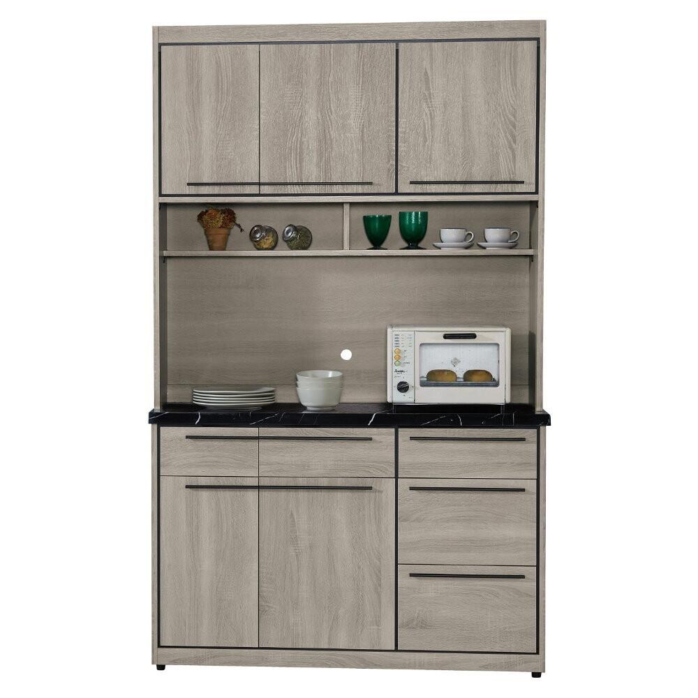 muna安格斯4尺石面餐櫃(全組)