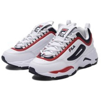 【ABC-MART:シューズ】F05390126 DISTRACER WHITE/NAVY/RED 600404-0001