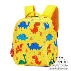 DF 童趣館 - 可愛人氣反光防潑水護脊防走失兒童後背包-共2色
