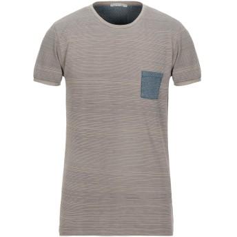 《セール開催中》DIKTAT メンズ T シャツ カーキ L コットン 100%