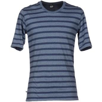《セール開催中》DR. DENIM JEANSMAKERS メンズ T シャツ ブルーグレー L コットン 100%