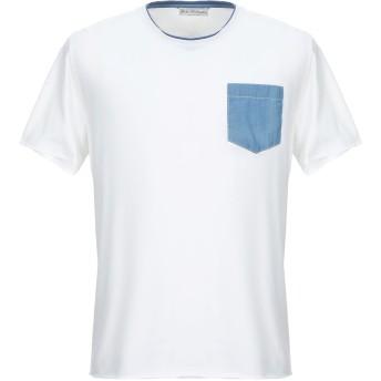 《セール開催中》JOHN WELLINGTON メンズ T シャツ ホワイト 50 コットン 90% / ポリウレタン 10%