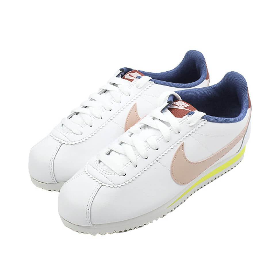 NIKE 耐吉 WMNS CLASSIC CORTEZ LEATHER 運動女鞋 807471114