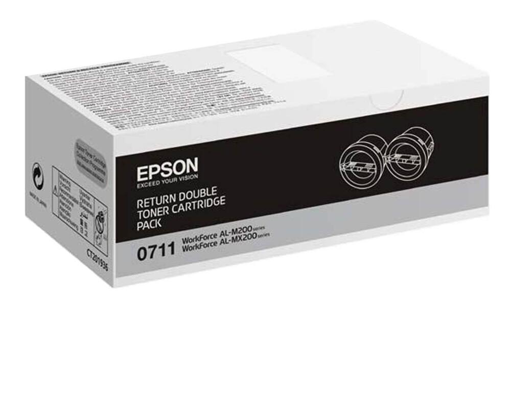 s050711 epson 原廠優惠黑色碳粉匣