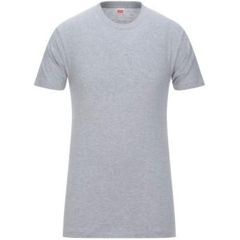 《セール開催中》LEVI' S メンズ T シャツ ライトグレー S コットン 100%