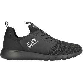 《セール開催中》EA7 メンズ スニーカー&テニスシューズ(ローカット) ブラック 11 紡績繊維