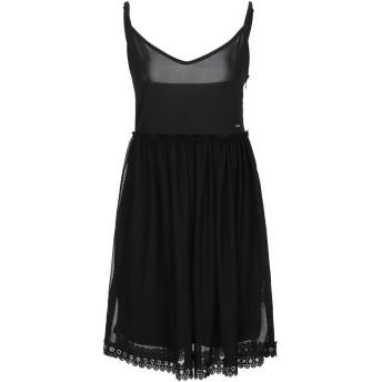 《セール開催中》!MERFECT レディース ミニワンピース&ドレス ブラック M ポリエステル 100% / ポリウレタン