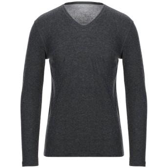 《セール開催中》MAJESTIC FILATURES メンズ T シャツ スチールグレー M コットン 70% / カシミヤ 30%