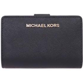 [マイケルコース] MICHAEL KORS 財布 (二つ折り財布) 35F7GTVF2L ブラック レザー 二つ折り財布 レディース [アウトレット品] [ブランド] [並行輸入品]