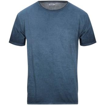 《セール開催中》BOMBOOGIE メンズ T シャツ ブルー S コットン 100%