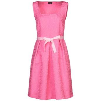 《セール開催中》EMME by MARELLA レディース ミニワンピース&ドレス フューシャ 44 ポリエステル 98% / ポリウレタン 2%