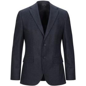 《セール開催中》BOSS HUGO BOSS メンズ テーラードジャケット ダークブルー 46 バージンウール 62% / ナイロン 18% / シルク 10% / ポリエーテル 8% / ポリウレタン 2%