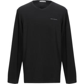 《セール開催中》GREY DANIELE ALESSANDRINI メンズ T シャツ ブラック XXL コットン 90% / ポリウレタン 10%