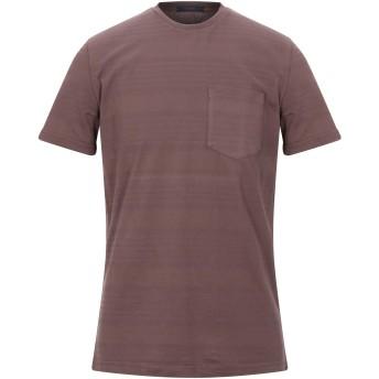 《セール開催中》THE GIGI メンズ T シャツ ココア M コットン 100%