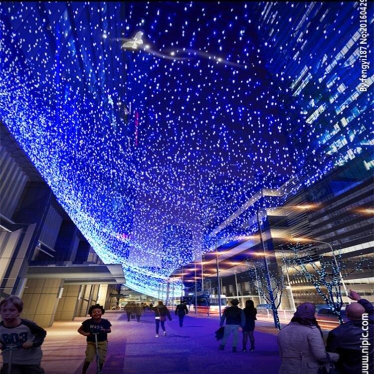 閃光燈 LED小彩燈閃燈串燈滿天星七彩變色聖誕房間裝飾燈220v