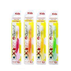 Twin Lotus雙蓮 皇室草本超軟細毛兒童牙刷(3-6歲適用)顏色隨機