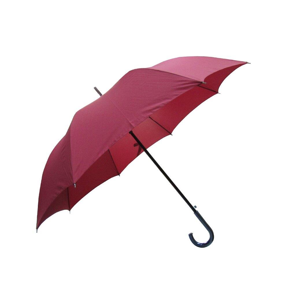 雨傘 ☆萊登傘☆ 素色 自動直傘 超大傘面 120公分 可遮數人 易甩乾 鐵氟龍 Leotern 素色