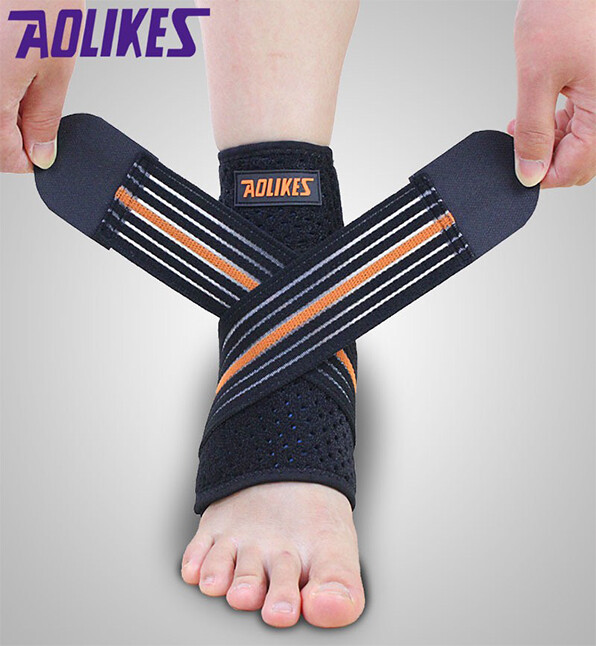 aolikes 繃帶加壓運動護踝