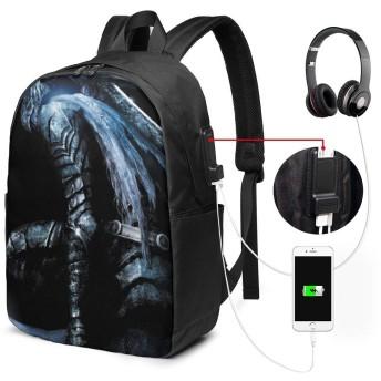 ダークソウル リュック 超大容量 メンズ バッグ 防水 盗難防止 USB充電ポート ラップトップ用 バックパック リュックサック