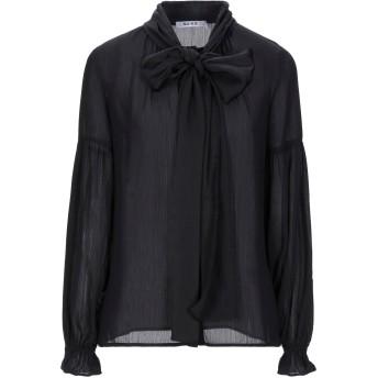 《セール開催中》NA-KD レディース シャツ ブラック 36 ポリエステル 100%