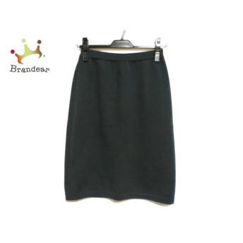 セリーヌ CELINE スカート サイズ38 M レディース ダークグリーン ニット   スペシャル特価 20200325