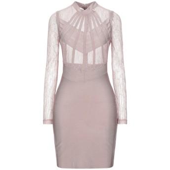 《セール開催中》MANGANO レディース ミニワンピース&ドレス ピンク L ポリエステル 90% / ポリウレタン 10%