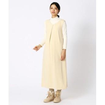 COMME CA BLANC D'OEUF/コムサブロンドオフ (マタニティ) ハッピー ドレス ミルク M〜L