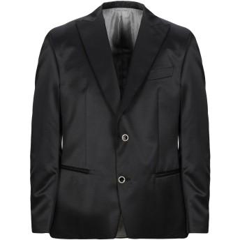 《セール開催中》TOMBOLINI メンズ テーラードジャケット ブラック 54 バージンウール 58% / ポリエステル 42%