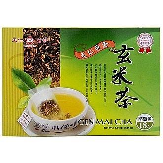 天仁 黃金 玄米茶 54g(18入)/盒【康鄰超市】