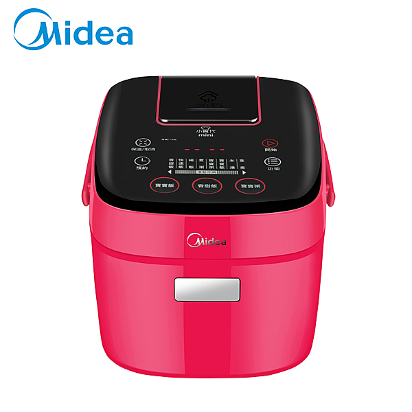 【美的 Midea 】mini電子鍋_紅 MBFS201R