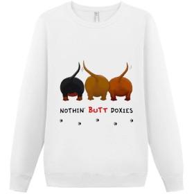 プルオーバー パーカー メンズ スウェットパーカー 白 黒 犬のお尻 トレーナー スウェット スウェットシャツ ティーシャツ 大きいサイズ 丸首 前ロゴ カジュアル ゆったり 人気