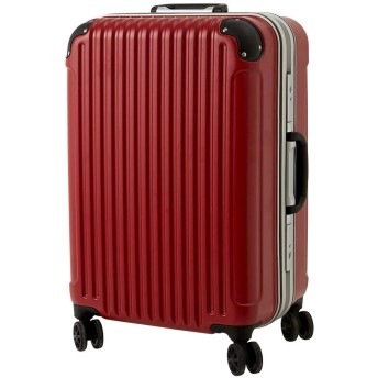 [luckypanda(ラッキーパンダ)] TY051 スーツケース 機内持込 キャリーバッグ 機内持ち込み 小型 フレーム 1年修理保証対応 TSAロック 鍵付 ハード 軽量 bag suitcase キャリーバック キャリーケース Sサイズ レッド