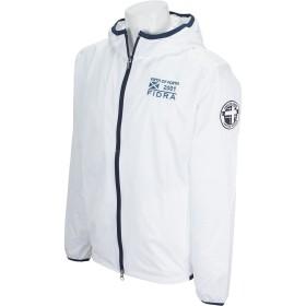 フィドラ FIDRA アウター(ブルゾン、ウインド、ジャケット) ジップフードジャケット ホワイト M