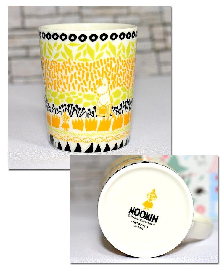 北歐風 MOOMIN 嚕嚕米 磁器馬克杯 正版日本製 300ml