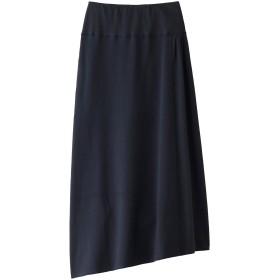 FLORENT フローレント スーパーストレッチベアサーマルロングスカート ネイビー