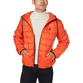 [ボルコム] [メンズ] 中綿 ジップアップ ブルゾン (SORONA採用)[ A1631906 / Volpoferized Jacket ] アウター おしゃれ TGL_オレンジ US L (日本サイズL相当)